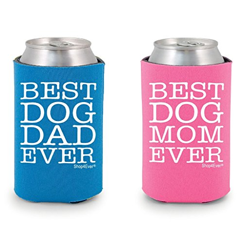Shop4Ever Couples Coolers Coolies Blue Pink product image