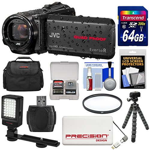 JVC Everio GZ-R550 Quad Proof Full HD 32GB Digital Video Cam