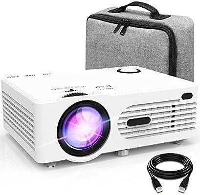 AWLLY Mini Proyector 3800 Lúmenes Proyector De Video Soporte 1080P ...
