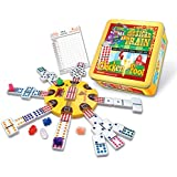 Mexican Train and Chicken Foot Combo Domino Game