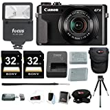 Canon G7X Mark II Camera with 64GB Holiday Bundle