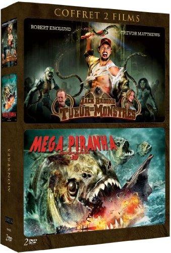 Coffret 2 Films: Jack Brooks, tueur de monstres / Mega piranha