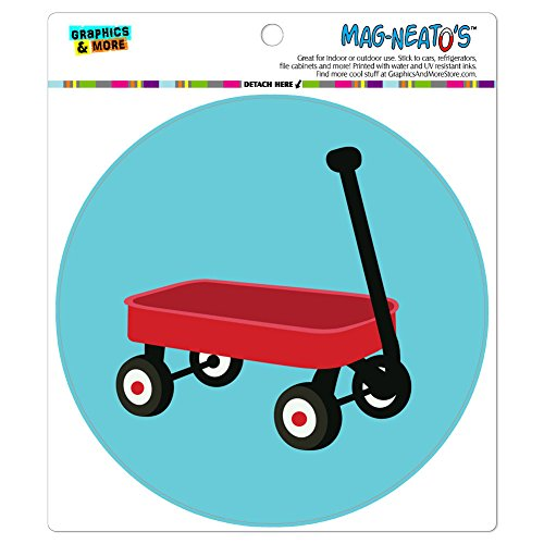 Graphics and More Little Red Wagon MAG-N - Refrigerator Wagon Shopping Results