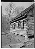 Vintography 8 x 12 Photo 12. Perspective View The west Elevation, Looking from The Southwest - The Hermitage, West Cabin, 4580 Rachel's Lane, Hermitage, Davidson County, TN 1883 72a