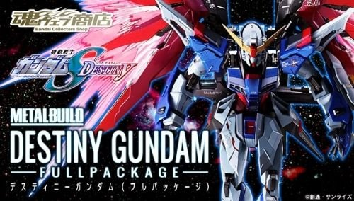 Premium Bandai METAL BUILD Destiny Gundam Gundam Seed Destiny Action Figure