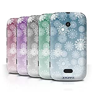 STUFF4 Phone Case / Cover for Nokia Lumia 510 / Pack 5pcs / Snowflake Mist Collection