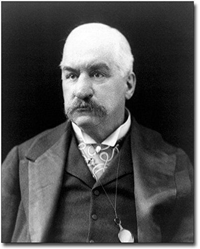 Morgan Portrait - John Pierpont J.P. Morgan Portrait 8x10 Silver Halide Photo Print