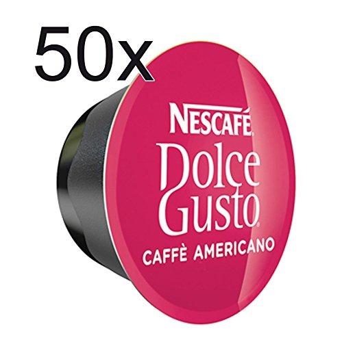 50 x Nescafe Dolce Gusto Coffee Capsules - 50 x Americano Capsules