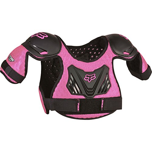 Fox Racing Pee Wee Roost Deflector-Black/Pink-S/M
