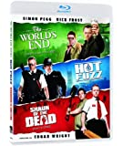 Blood And Ice Cream Trilogy (Shaun Of The Dead / Hot Fuzz /The World's End) [Blu-ray]