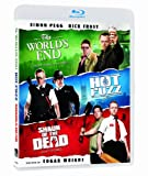 Blood And Ice Cream Trilogy (Shaun Of The Dead / Hot Fuzz /The World's End) [Blu-ray] (Bilingual)