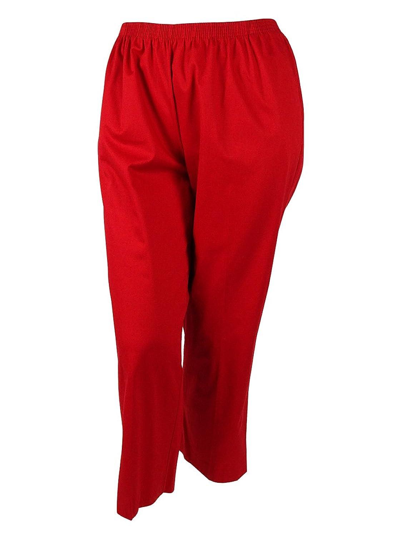 Alfred Dunner Women's Cotton Blend Short Pants