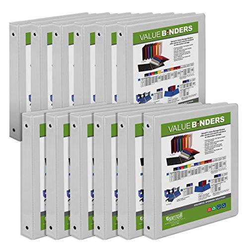 Samsill Economy Binder 12 Pack I008537C