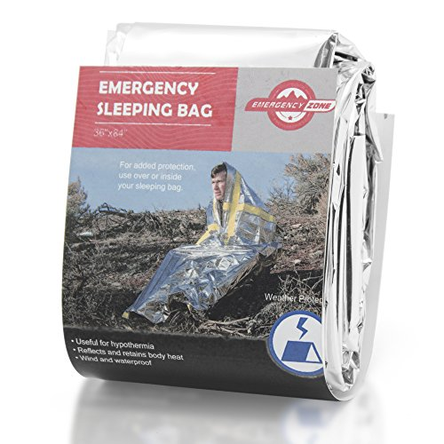 Emergency Sleeping Bag, Survival Bag, Emergency Zone Brand ...
