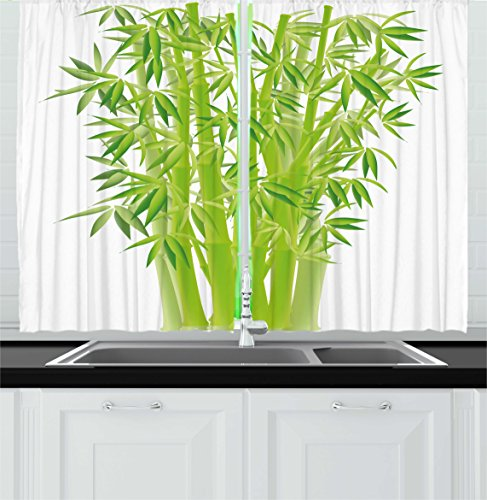 Green Kitchen Curtain Ideas: Lime Green Kitchen Curtains