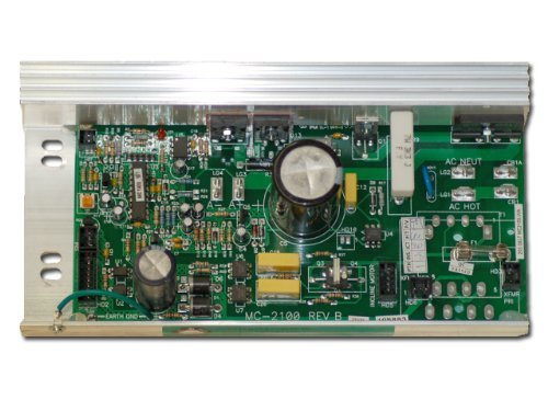 Proform Epic Image Nordictrack Treadmill Motor Controller Board MC2100WA 198023 + FREE Bottle of 4Oz Silicone by ProForm