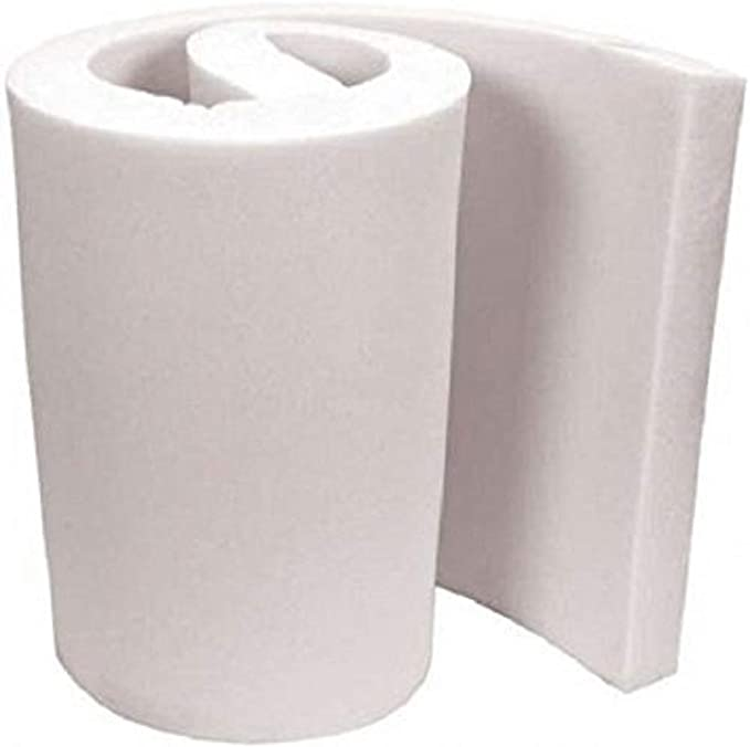 33LB Upholstery Foam 9 Inch Thick Sheet 18in x 78in Conventional Polyurethane Foam Pad Made in the USA