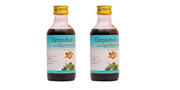 2 x Chemparuthyadi Coconut Oil by AVP - 200 ml (Pack     - Amazon com