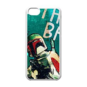 iPhone 5c Cell Phone Case White The Good, The Bad & The Ugly Star Wars Fsgam