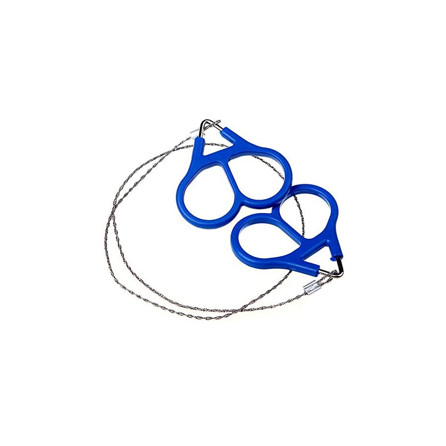 Fengtu 2pcs / 4pcs Camper Wire Saw Stainless Steel Mini Portable Flexible Stainless Steel Wire Saw Outdoor Practical Emergency Survival Gear Tools Hand Pocket Chain Wire Saws