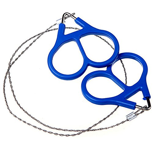 2pcs / 4pcs Camper Wire Saw Stainless Steel Mini Portable Flexible Stainless Steel Wire Saw Outdoor Practical Emergency Survival Gear Tools Hand Pocket Chain Wire Saws