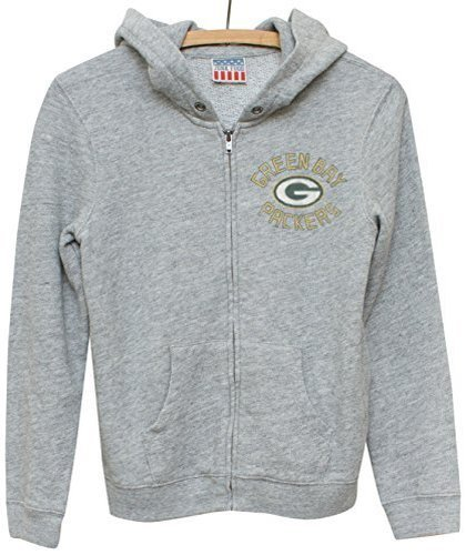 Football Signature Jacket - Junk Food NFL Green Bay Packers Zip Fleece Jacket, Small
