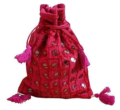 Kalra Creations, Borsa a tracolla donna rosa Pink