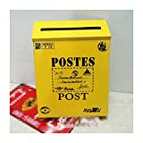 classical villa mailbox Pastoral retro wall letter box Waterproof outdoor Thicker Post mailbox without lock