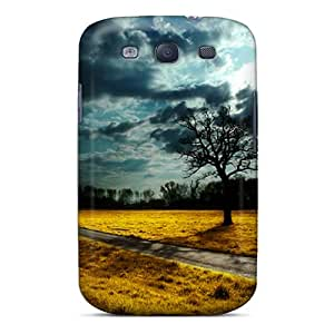 New CRij2022 Dusk Tree Hd Tpu Cover Case For Galaxy S3