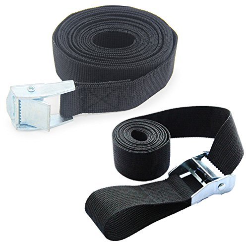 Strap Duty Lashing (2x Lashing Straps for Roof-top Tie Down Mounted Cargo (10'x1'))