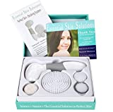 Cleansing Brush Best - Face Brush - Exfoliation & Cleansing System – Microdermabrasion Facial Brush - Deep Cleans Skin - Minimize Pores + Help Get Rid of Acne – and Blackheads | for Face and Body