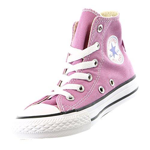 CONVERSE Chuck Taylor All Star Season Hi - Zapatillas de tela infantil Powder Purple