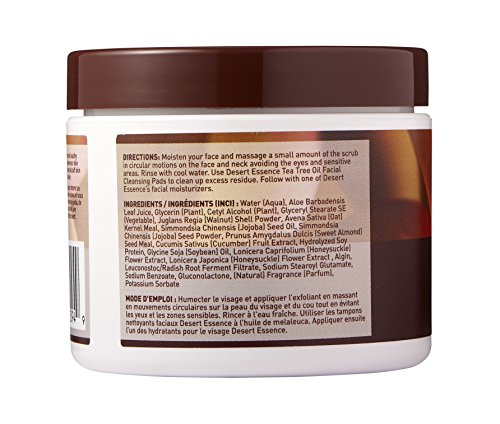 Desert Essence Gentle Facial Scrub 3pk 4 fl oz
