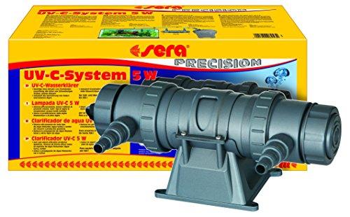 Sera - Sistema UVC, 5 W, un aclarador de Agua UVC de Alto Rendimiento contra el Agua Verde