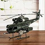 FUMING 3D Vintage Style Apache Fighter Model Kit toys for children