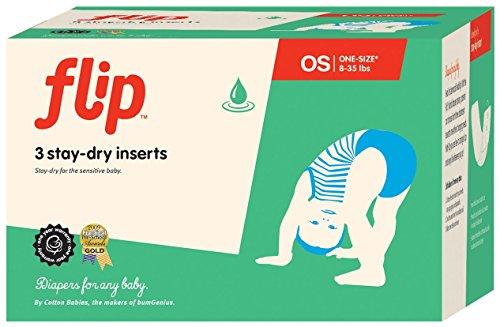 Flip Stay-Dry Inserts - 3ct