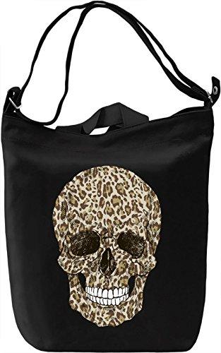 Fancy skull Borsa Giornaliera Canvas Canvas Day Bag| 100% Premium Cotton Canvas| DTG Printing|