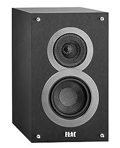 ELAC Debut B4 Bookshelf Speaker (Black, Pair)