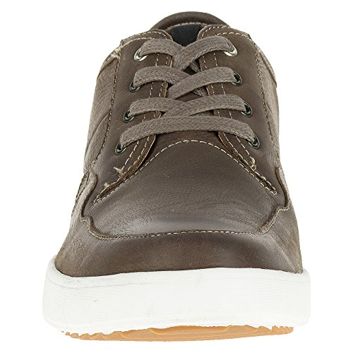 Men's Dark Hanston Puppies Sneaker Brown Roadside Hush Leather UROwqx