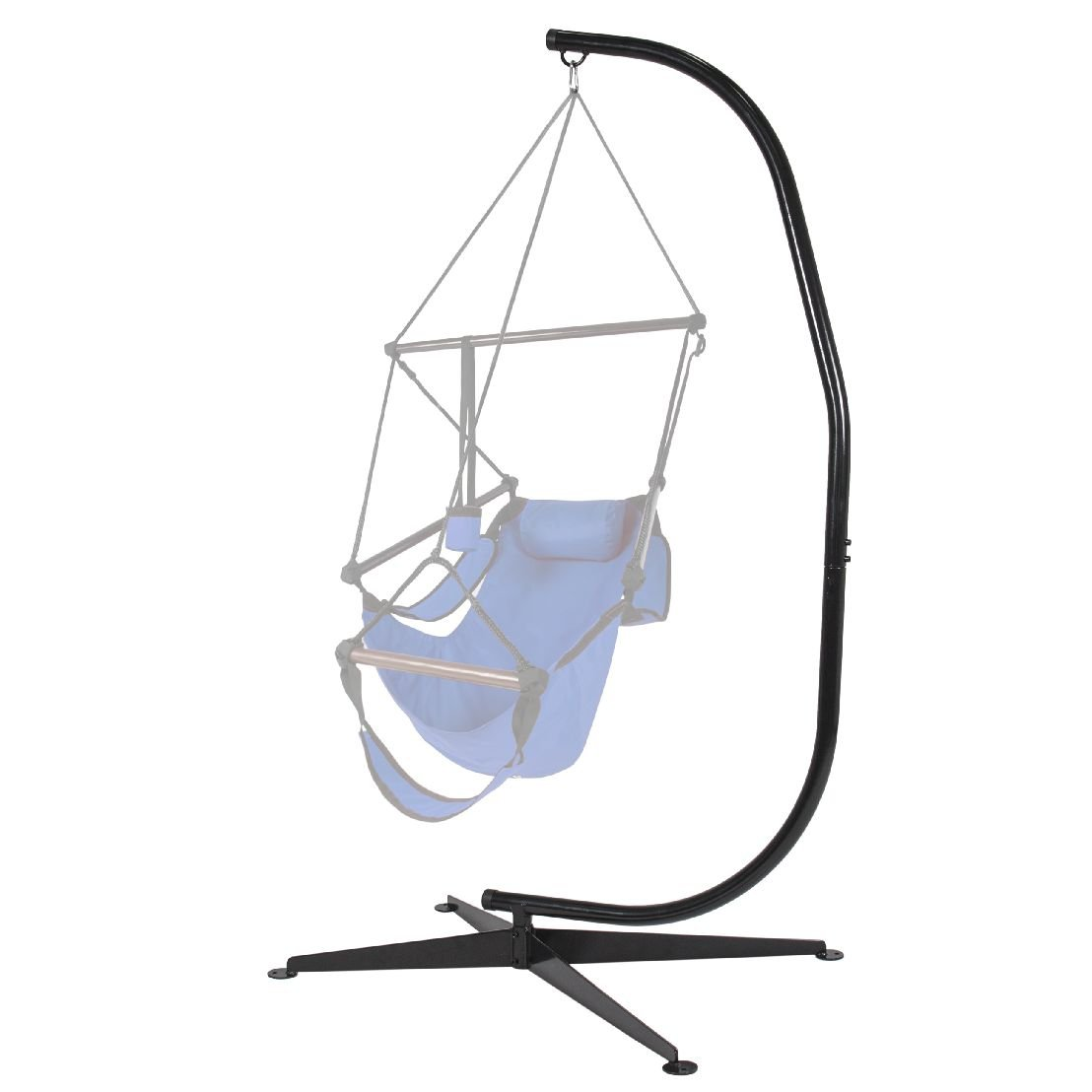 Hammock Chair C Stand Solid Steel For Hammock Air Porch Swing Chair by BEC