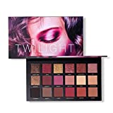squarex 18Colors Pro Eyeshadow Palette Makeup Matte Shimmer Highly Pigmented Professional Pearl Glitter Powder (A)