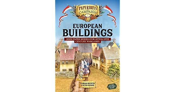 European Buildings: 28mm Paper Models for 18th & 19th Century