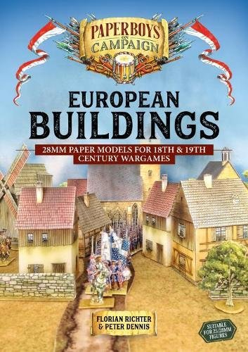 European Buildings: 28mm Paper Models for 18th