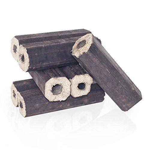 PALIGO Holzbriketts PiniKay Hartholz Buche Eiche Kamin Ofen Brenn Holz Heiz Brikett 10kg x 3 Gebinde 30kg / 1 Karton Heizfuxx