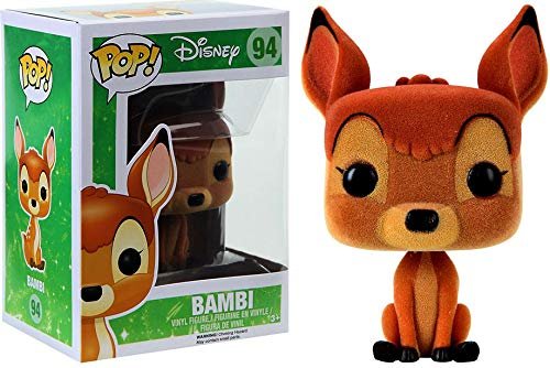 Funko - Figurine Disney Bambi - Bambi Flocked Exclu Pop 10cm - 0849803093