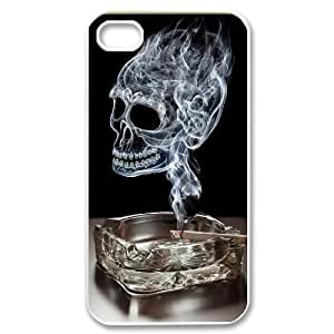 C-EUR Customized Print Skull Pattern Back Case for iPhone 4/4S