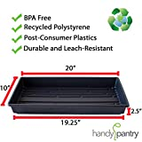 10-Pack 1020 Garden Growing Trays Without Drain