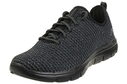 Skechers Men's Flex Advantage 2.0 Cravy Black/Black Oxford