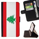 STPlus Lebanon Lebanese Flag Wallet Card