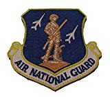 AIR NATIONAL GUARD Shoulder Patch - Ang Shield - Color - Veteran Owned Business